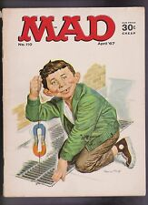 "Vintage ""MAD"" Magazine #110 April 1967 Alfred E Neuman BB"
