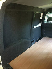 VW CADDY MAXI VAN INTERIOR CARPET LINING VELTRIM *READY CARPETED PLY PANEL KIT*