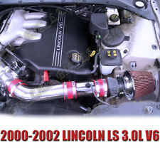 RED 2000-2002 LINCOLN LS BASE LSE SEDAN 3.0 3.0L AIR INTAKE KIT SYSTEMS