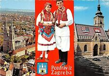 B69386 Croatia Zagreb traditional costumes multiviews