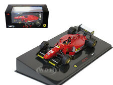 FERRARI 412 T1 F1 ELITE ED. RED 1/43 DIECAST MODEL CAR BY HOTWHEELS N5583