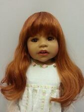 """NWT Monique Denise Carrot Doll Wig 16-17"""" fits Masterpiece Doll(WIG ONLY)"""