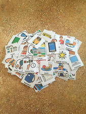 Lot of 130 Pecs Picture Communication Visual Symbols Special Needs Autism ABA
