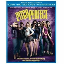 Pitch Perfect (Blu-ray Disc, 2012, 2-Disc Set) SHIPS NEXT DAY! RARE OOP ANNA