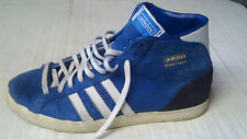 Adidas  Basket Profi  Shoes Size 11 Royal Blue Leather
