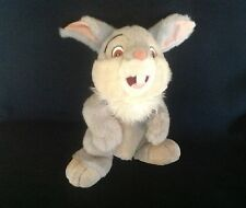 "DISNEY BAMBI TALKING AND MOVING"" THUMPER "" SOFT PLUSH COMFORTER TOY EX CONDITION"