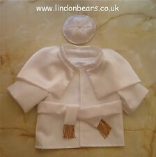 POPE 4 PIECE OUTFIT - FITS TEDDY BEARS 16 INCH / 40CM TALL – MADE IN ENGLAND