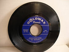 The Ovations, Qualifications / I Believe I'll go back home, Goldwax 306