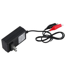 12V 2A Sealed Lead Acid Rechargeable Battery Charger For Car Motor Truck QT