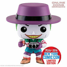 "Batman - Joker ""Killing Joke"" NYCC 2016 US Exclusive Pop! Vinyl Figure - BNIB"
