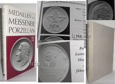 Book over East German Medal Meissen porcelain RDA stasi sed NVA lpg medalla...