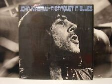 JOHN MAYALL - A BANQUET IN BLUES  LP EX/VG+ ITALY 1976 ABC 456