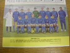 1967/1968 Football League Review: Vol 2 No 28 - Colour Picture - Chelsea [Old Ho