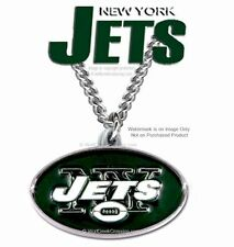 "NEW YORK JETS NECKLACE for MALE or FEMALE - 24"" CHAIN NFL GIFT - NFL SALE  #CB*"