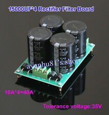 40A Audio Power Supply Rectifier Filter Board ELNA 10000uf/35V*4 Diode Rectifier