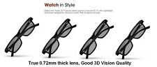 4 Pairs New Theater 3D Glass XPG202 XPG203 +2 Free clean Cloth for Passive 3D TV