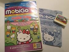 VTECH MOBIGO GAME HELLO KITTY BIRTHDAY PARTY! +BOX +INSTRUCTIONS COMPLETE 3-6y/o