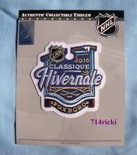 Official NHL 2016 Winter Classic French Patch Boston Bruins Montreal Canadiens