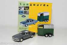 . VANGUARDS VA08602 JAGUAR XJ6 4.2 SERIES 1 & TOWING HORSE BOX MINT BOXED
