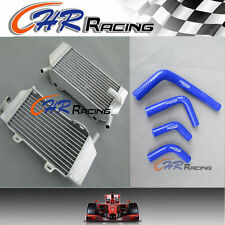 ALLOY RADIATOR and HOSE for HONDA CRF250R/CRF250X 2004-2009 2005 2006 2007 2008