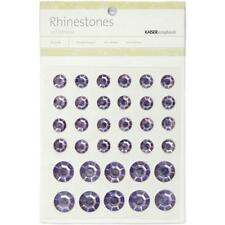 Kaiser Craft - Self Adhesive LILAC Round Rhinestones 24 - 9mm & 10 - 14mm SB755