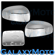 Triple Chrome Plated Mirror+Gas Door cover for 2013-2016 Nissan Pathfinder 13-16