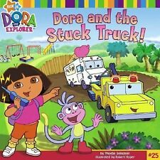 Dora and the Stuck Truck (Dora the Explorer 8x8 (Quality))-ExLibrary