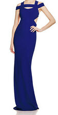 Nicole Miller New Off The Shoulder Cutout Gown Size 4 MSRP $565 #AN 845