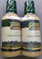 OLIVE GARDEN SIGNATURE ITALIAN SALAD DRESSING 2 X 20 OZ VALUE PACK GARLIC FOOD