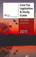 Core Tax Legislation and Study Guide 2011 by Stephen Barkoczy (Paperback, 2011)