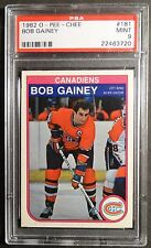 1982 O-PEE-CHEE BOB GAINEY #181 PSA  9 MINT MONTREAL CANADIENS    (143)