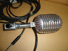 Shure 55 Unidyne Vocal Microphone Vintage Multi Z