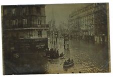 75 PARIS CPA PHOTO INONDATIONS