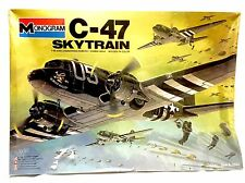 MONOGRAM C-47 SKYTRAIN 1/48 Color Model Kit 5603  WW II Military Cargo 78 SEALED