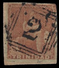 "TRINIDAD COLONY 1a (SG7) - Britannia ""Brown Red 1853"" (pa34699) ""San Fernando"""