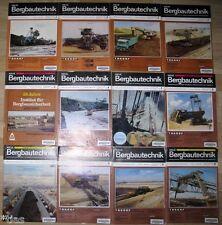 Neue Bergbautechnik Zeitschrift für Bergbau Geowissenschaften Jahrgang 1985