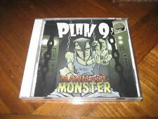 PLAN 9 - Manmade Monster CD - Hard Death Rock Punk - rare