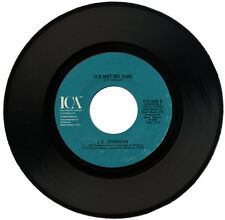 """L.V. JOHNSON  """"IT'S NOT MY TIME c/w LET YOURSELF GO""""  70's SOUL    LISTEN!"""