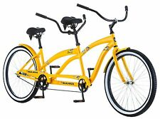 "KULANA LUA 26"" TANDEM COMFORT CRUISER BIKE BICYCLE STEEL FRAME CRUISER NEW!"
