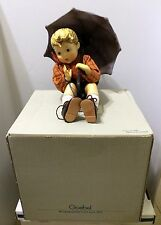 "Rare 1988 HUMMEL GOEBEL 8"" UMBRELLA BOY DOLL In Original Box Beautiful Figure"