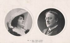 POSTCARD  ACTRESSES    Mr &  Mrs   Fred  Terry