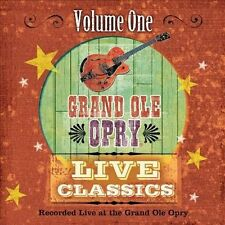 Grand Old Opry Live Classics, Vol. 1 by Various Artists (ONE CENT CD, Jul-2012)