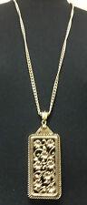 Elegante Collar De Oro impresionante único de un tipo Pieza Nueva Marca (St19)