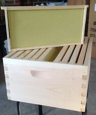 Beekeeping Winter Special 10 FRAME Deep Super Hive Body ,Frames & Foundation