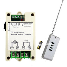 Wireless Remote Control Motor Controller for 12V/24V DC Motor Linear Actuator