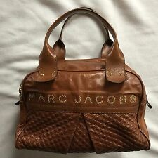 Marc Jacobs Made In Italy Light Brown Leather Bag