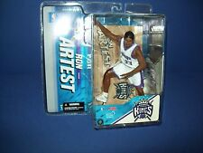 MCFARLANE NBA Series 11 FIGURE NIB - Ron Artest White Kings  Jersey
