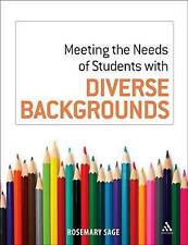 Meeting the Needs of Students with Diverse Backgrounds,,Excellent Book mon000010