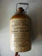 Sharpe Bros Australia & New Zealand Demijohn By Pearsons &Chesterfield 1950's