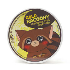 [Ship from USA] Secret Key Gold Racoony Hydro Gel Eye & Spot Patch